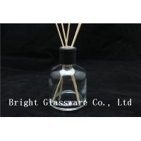 China Glass Empty Reed Diffuser Bottle With Diffuser Rattan wholesale