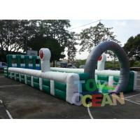 China Giant Funny Team Sport Inflatable Interactive Games Pony Horse Racing Run Field wholesale