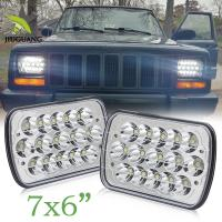 Buy cheap Off Road Truck 5x7 Led Headlights , 5x7 Led Headlamp 2 Years Warranty from wholesalers