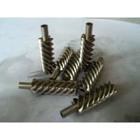 China 40Cr, 42CrMo steel alloy and brass precision helical worm gear for reducer wholesale