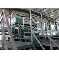 Vacuum Forming Paper Pulp Moulding Machine , Paper Products Manufacturing Machines