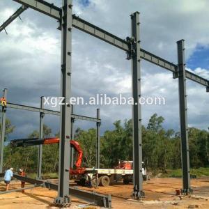 China Cheap Price Prefab Galvanized Steel Factory In Ethiopia wholesale