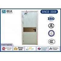 Custom Made White Insulated Fire Door Strongly Temperature Resistance