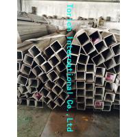 China Rectangular Welded Steel Tube , ASTM A554 Welded Stainless Steel Mechanical Tubing wholesale