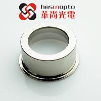 China Flat window caps, ±45° ±60° gold (electro) plating, Electroplated nickel, class to metal sealing, High Refractive Index wholesale