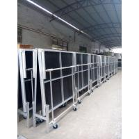 Buy cheap 1.22*2.4M High 0.4-0.6 Or 0.6-1.0m Aluminum Folding Stage With Wheels from wholesalers