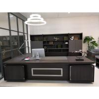 China Dark Series Large Office Desk , Contemporary Office Desk OEM / ODM Accepted on sale