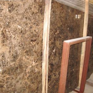 China Dark Emperador Marble Slab (LY-339) wholesale