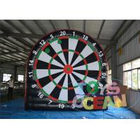 China PVC Inflatable Sport Game Inflatable Football Toss Game Throwing Target wholesale
