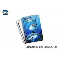 China Decorative 3D Flip Effect Lenticular Notebook For Shark A1 / A2 / A3 Custom Size wholesale