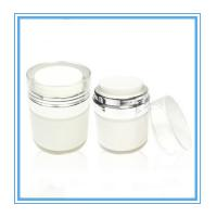 China high quality 30g vacuum bottle for clear glass cosmetics jar wholesale