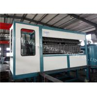 30 Egg Tray Forming Machine , Paper Pulp Moulding Machine Touch Screen