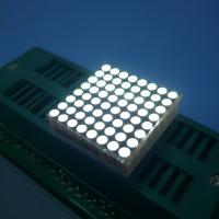 China Indoor Dot Matrix Led Display 8X8 Stable Performance Energy Saving wholesale