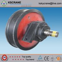 Easy Operated Casting Single Flange Wheel In Crane