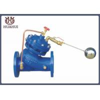 China Durable Ductile Iron Float Control Valve 24 Inch Y Type With Float Ball wholesale