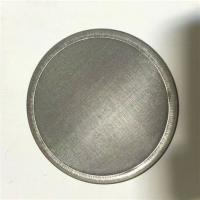 China 40 X 300 Stainless Steel Filter Mesh / Dutch Weave Wire Mesh Filter Disc wholesale