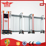 China Foldable gate home retractable aluminum fencing  gate L1522 wholesale