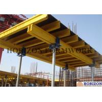 China Flexible Slab Decking System 4.5m Height Timber Beam H20 Movable By Trolley wholesale