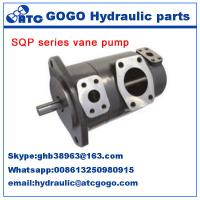 Professional double steering pump sqp series vane variable for Variable displacement hydraulic motor