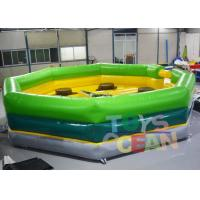 Quality Single Stick Inflatable Interactive Games Inflatable Wipeout Sport Game Meltdown for sale