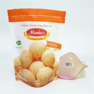 Buy cheap 340g 12oz Snack Bag Packaging Cookies Jerky Doypack Self Standing Plastic from wholesalers