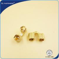 China Cylindrical Brass Concealed Cabinet Hinges Carbon Steel For Furniture Cabinet wholesale