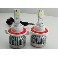 China Auto C1 H13 LED Headlight 9008 Fanless COB 30W 3000 Lumen Super Bright wholesale