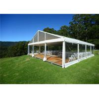 China Outdoor Wedding Party Marquee Clear Top Canopy With Inner Decorations wholesale