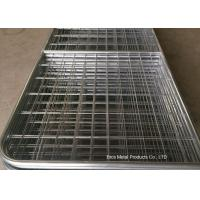 China Welded Farm Mesh Fencing Filled Tube Galvanized 12 Foot Farm Gate Durable wholesale