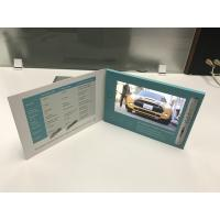 China Custom printing paper card style 7inch LCD screen lcd video business card Video brochure for pharmaceuticals on sale