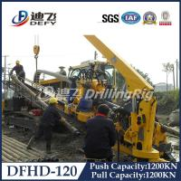 China 120T DFHD-120 underground pipeline laying rig HDD machine with 1200KN Pulling Force wholesale
