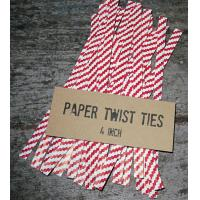 Quality paper twist ties/bag closures/clips for sale