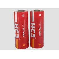China 2800mAh High power Lithium Thionyl Chloride Cell , Li-SOCl2 Battery For Heat Meter wholesale