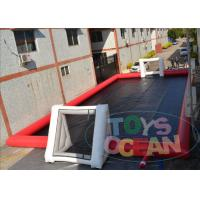 China Commercial Inflatable Sports Arena Soccer Field For Football Game Playing 20m X 10M wholesale
