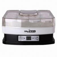 China 1.5L Household Yogurt Maker with 10 Glass/Plastic Cups and Lids on sale