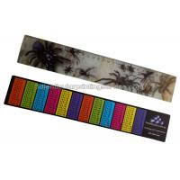 China PET / PP Printing Customised 3d Lenticular Ruler For Student Flip Effect wholesale