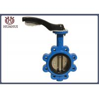 China Ci Disc Ductile Iron Butterfly Valve , Water Butterfly Valve Epdm Seal wholesale