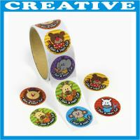 China adhesive stickers printing sticker label printing wholesale