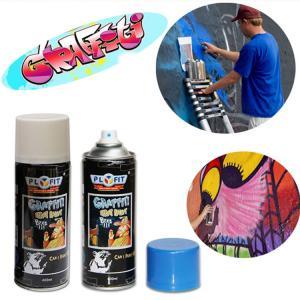 China PLYFIT 400ml Acrylic Aerosol Graffiti Spray Paint wholesale