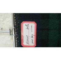 China One Sided Green Tartan Fabric 20% Wool , Scottish Plaid Fabric With Horizontal / Vertical Line on sale