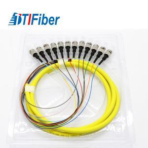 Buy cheap Singlemode Fiber Optic Pigtail Simplex ST Excellent Mechanical Endurance from wholesalers
