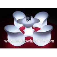 China Chargeable LED Glow Furniture , led tables and chairs with Remote Controller for Bar wholesale