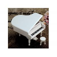 China Home Decoration Wooden Crafted Gifts Piano / Wooden Music Box For Birthday Gift wholesale