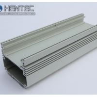 China Steel Polished Industrial Aluminium Profiles Electrical Cover , Electrical Shell wholesale
