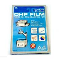 China A3 / A4 PET Plastic OHP Film with 75mic-175mic Thickness for laser printer wholesale