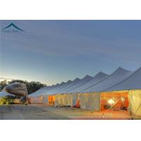 China White PVC Marquee  20x20 Party Tent Used For Commercial Outdoor Party Activity wholesale