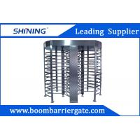 China 30 Person / Min RFID Bi - Directional Full Height Turnstile With Double Channel wholesale
