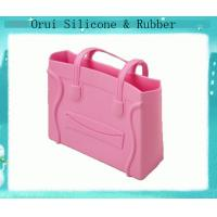 China Full sized waterproof beach silicone cady bag for women wholesale