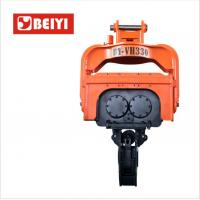 China BeiYI Steel Pile Vibratory Pile Hammer High Frequency Vibratory Driver for EX300 wholesale