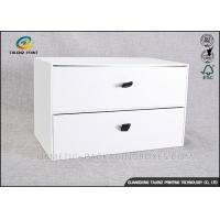 China Customizing Cardboard Display Boxes , Cardboard Pop Displays With Big Drawer wholesale